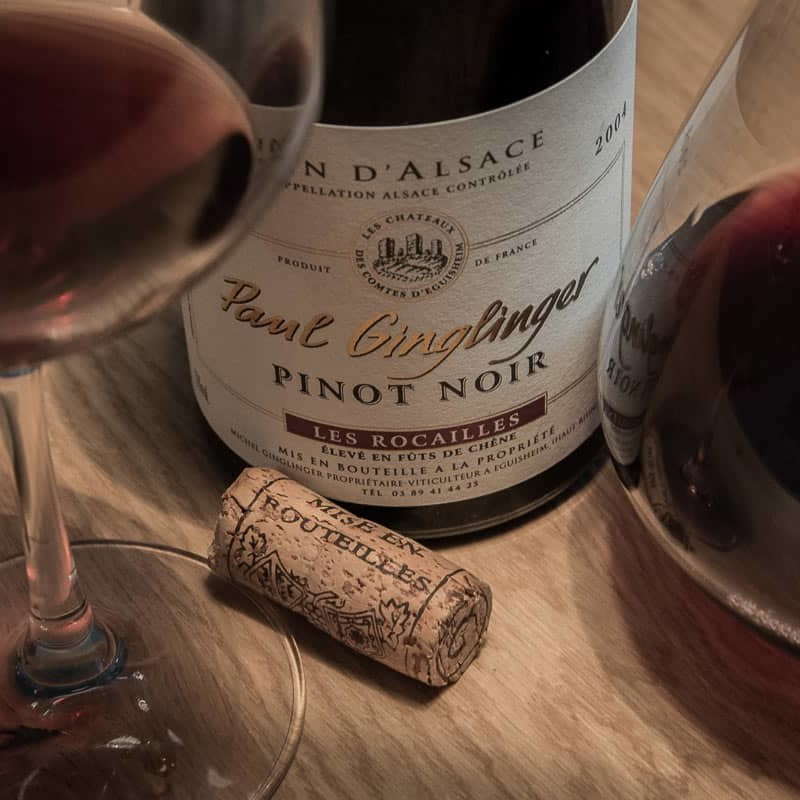 Vins d'Alsace Pinot noir Paul Ginglinger