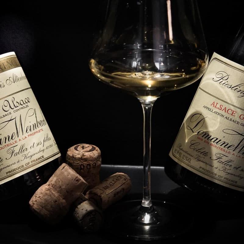 Pinot gris - Riesling - Partez à la découverte des plus grands vins d'Alsace sous forme de parcours dégustation (Winetasting) ludiques et personnalisés, Le Caveau à Colmar !