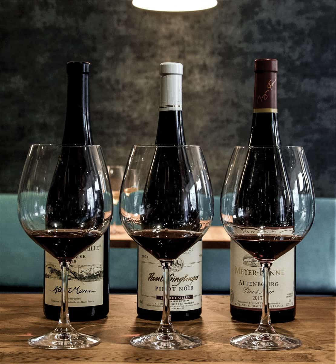 Dégustation Paul Ginglinger, pinot noir - Partez à la découverte des plus grands vins d'Alsace sous forme de parcours dégustation (Winetasting) ludiques et personnalisés, Le Caveau à Colmar !